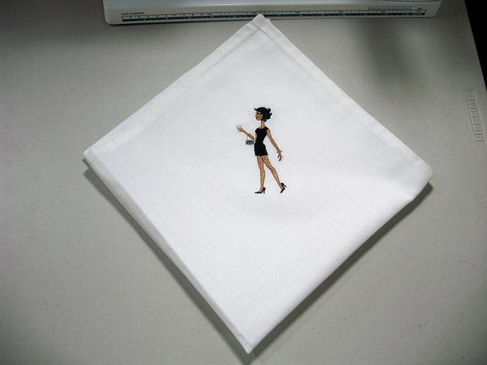 PARTY GIRLS cloth napkins