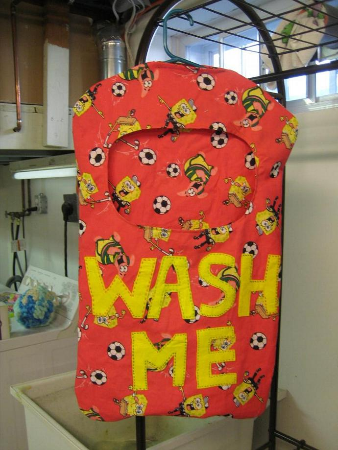 The Wash Me Laundry Keeper - Children's - Soccer - Laundry Basket