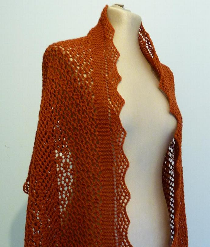 Bubble Shawl