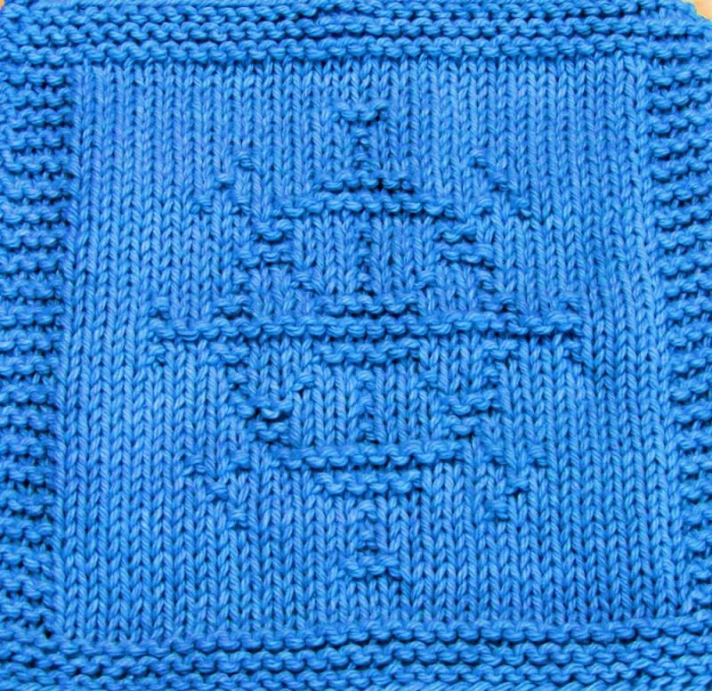 Knitting Wheel Patterns Free : Knitting cloth pattern ships wheel pdf ezcareknits