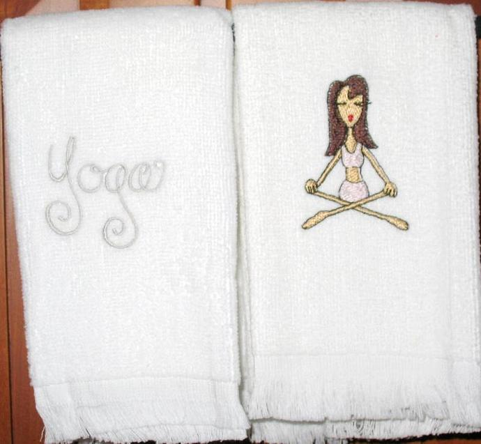 YOGA fingertip towels