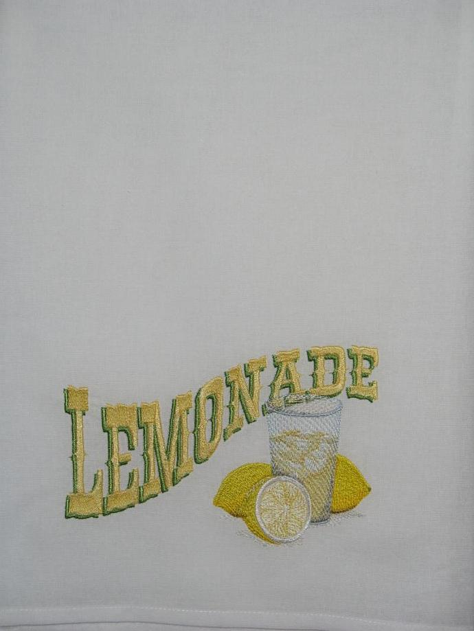 GOOD OLD FASHIONED LEMONADE flour sack towel