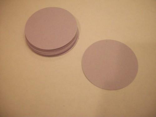 30  Circle Die Cuts 2 inch /DIY projects/childrens crafts