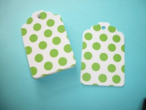 30ct / Pick your color  Blank hang tags /DIY projects / supply sale