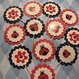 3D Black an Red Ladybug Cupcake toppers / food picks / decorations