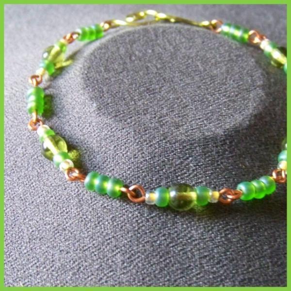 Peridot Lemon Bracelet