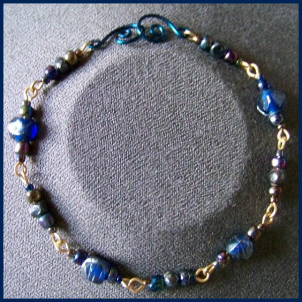 Angular Indian Bead Bracelet
