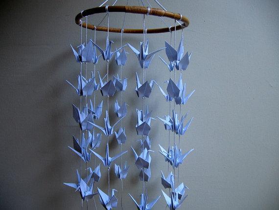 Origami Crane Mobile Nursery