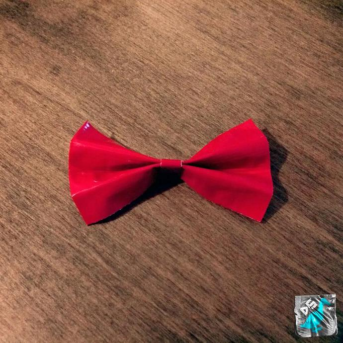 Red Hair Bow 3""