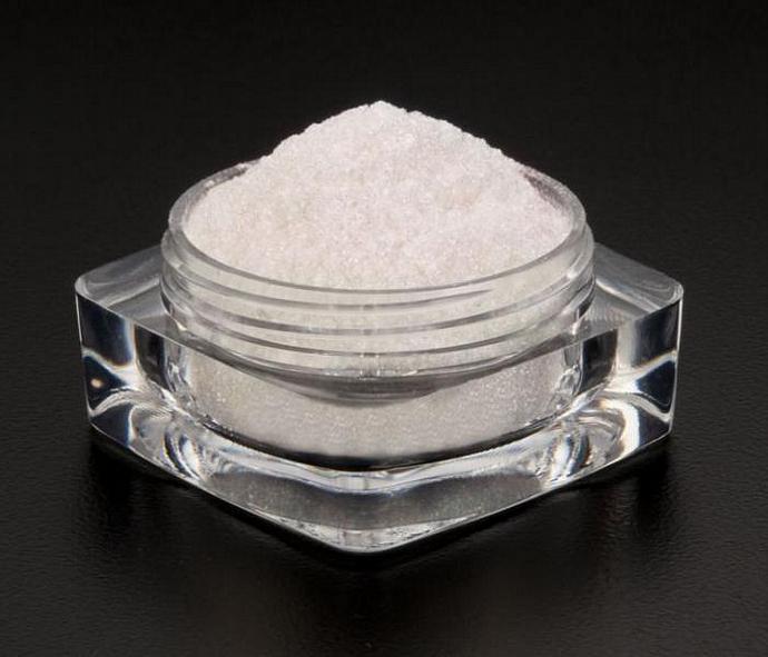 Dramatic Mirage Faery Dust Powder - Ice Blue - 3 gram jar packed - eye shadow