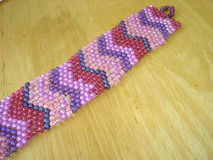 Berry-licious Beaded Bracelet