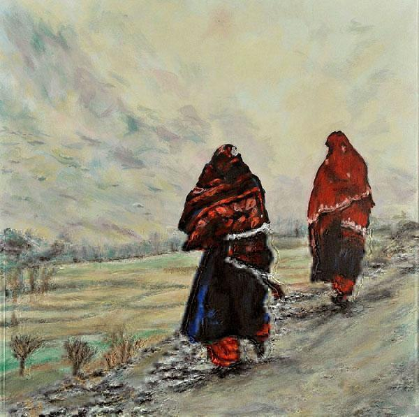 In Afghanistan (An Original Painting)