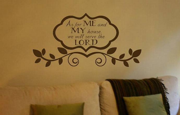 As For Me And My House Wall Art as for me and my house we will serve thedesignstudiosigns on