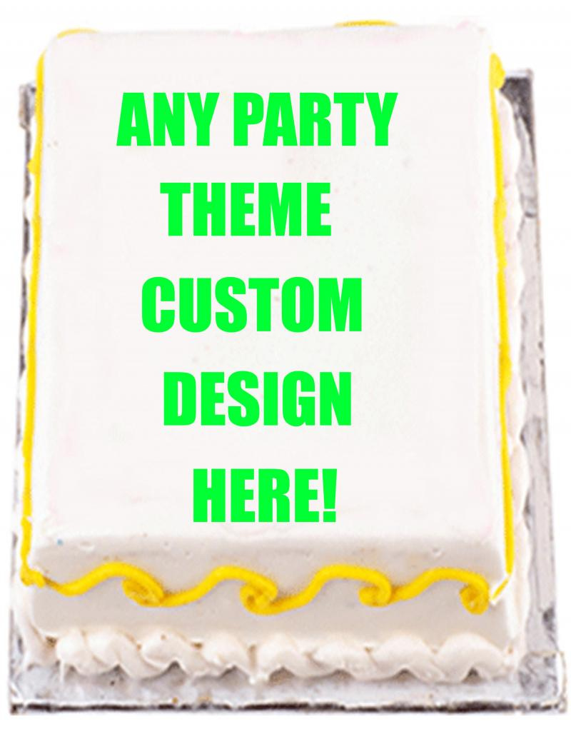 Design Your Own Sheet Cake : Design Your Own 1/4 sheet Cake EyeCandeyCreativeDesigns
