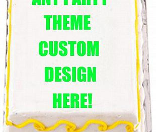 Design Your Own Sheet Cake : EyeCandeyCreativeDesigns: Edible Cake, Cupake Toppers and ...