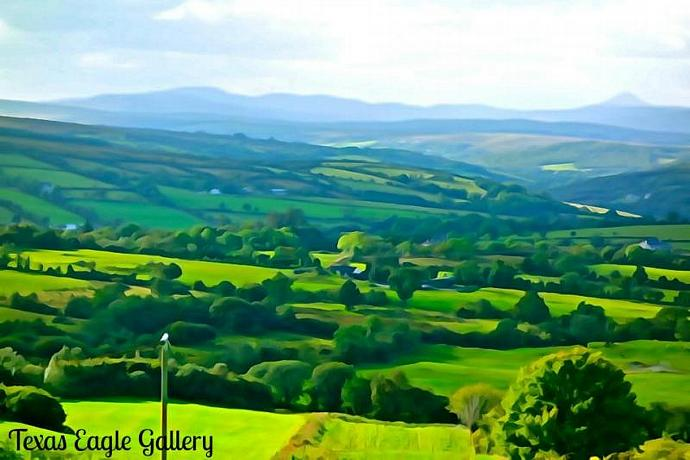 Fifty Shades of Green fine art print