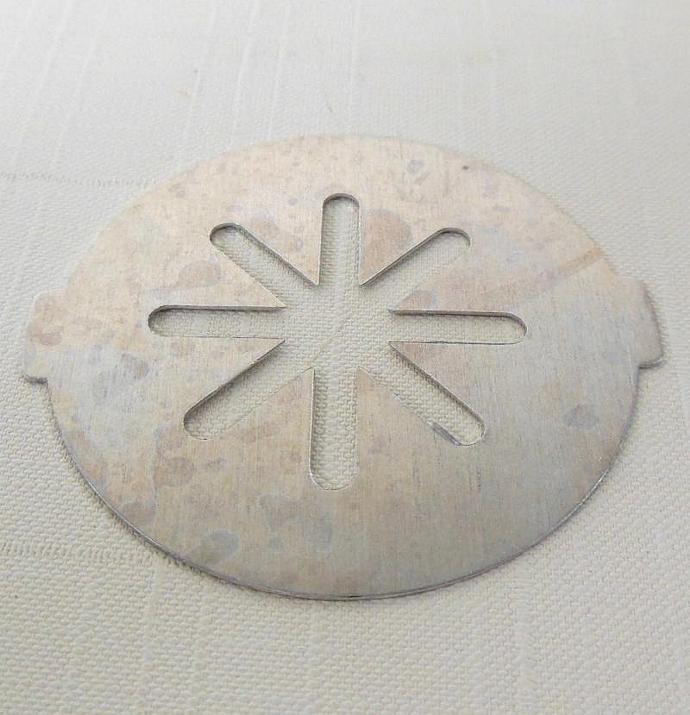 Popeil Gadget Master Cookie Press Disk Replacement Part flower