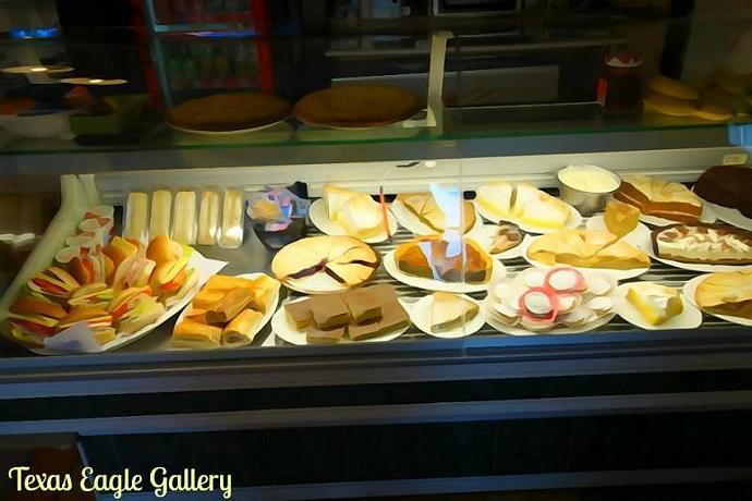 Cafe set of fine art prints