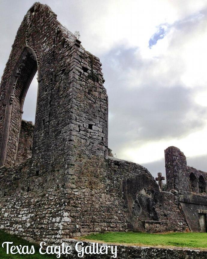 Roscommon Abbey 8x10 Fine art print