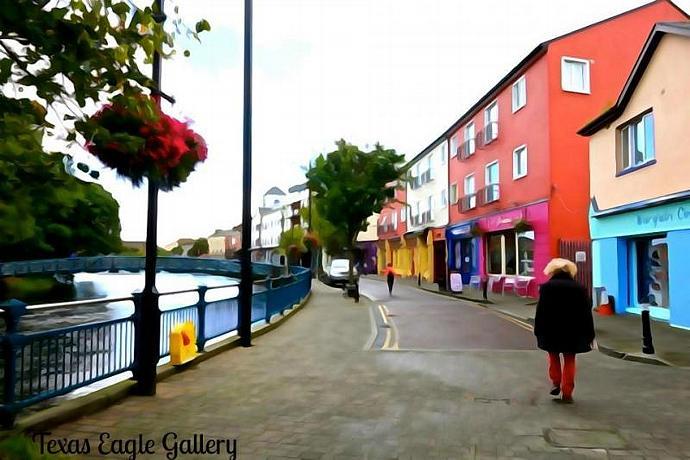 Sligo Town fine art print