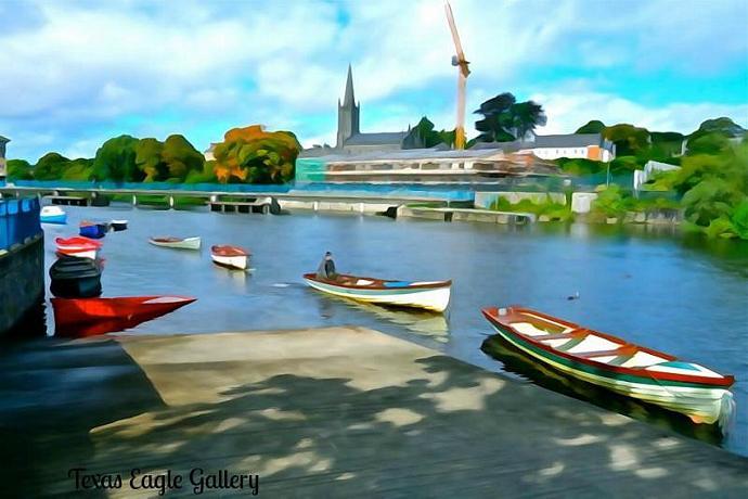 The Garavogue River fine art prints