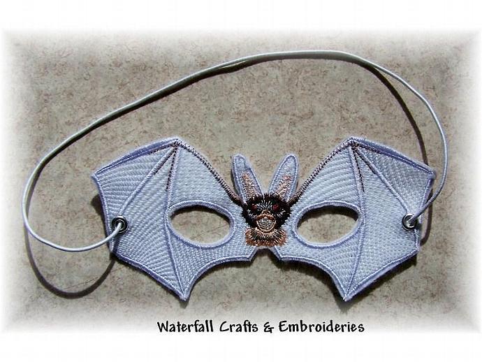 Flying Bat Felted  Dressup Mask