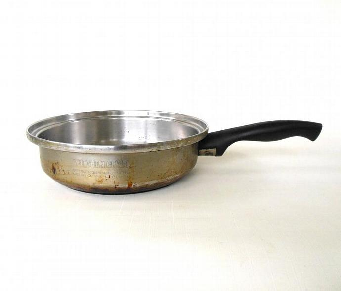 "Kitchen Craft Cookware Skillet Fry Pan 8"" (used, lid not included)"
