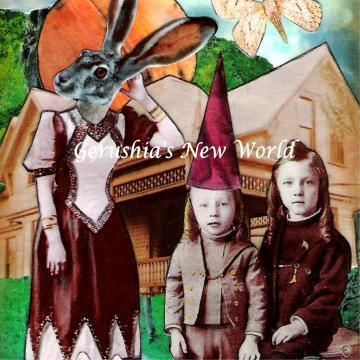 Country Adventures of a Fashionista ~ Watercolor Collage Print