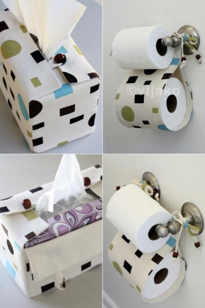 Dot Square bath accessory set