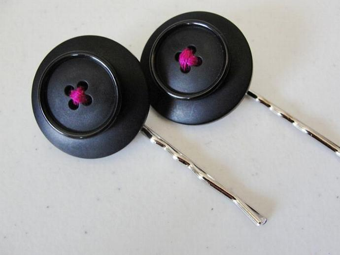 PIF Button Hairpins Set