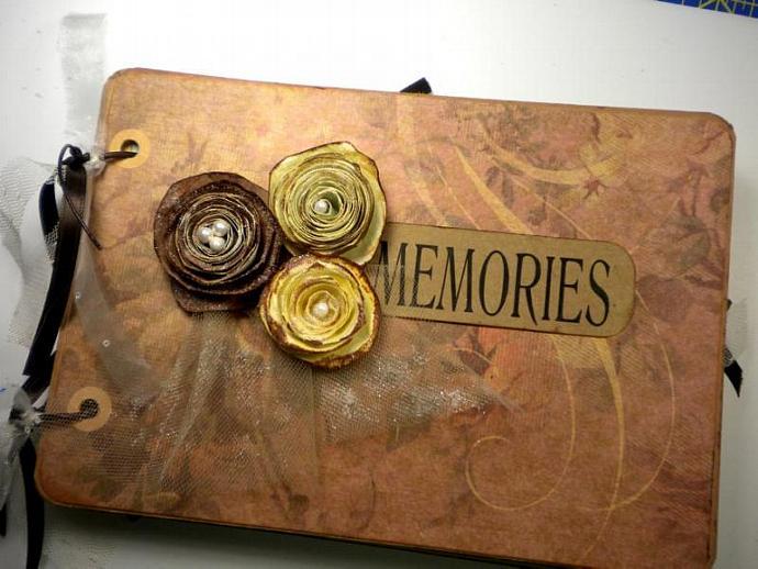 Beautiful Memories Photo Mini Album