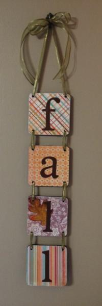 Fall Sign - Door Decoration