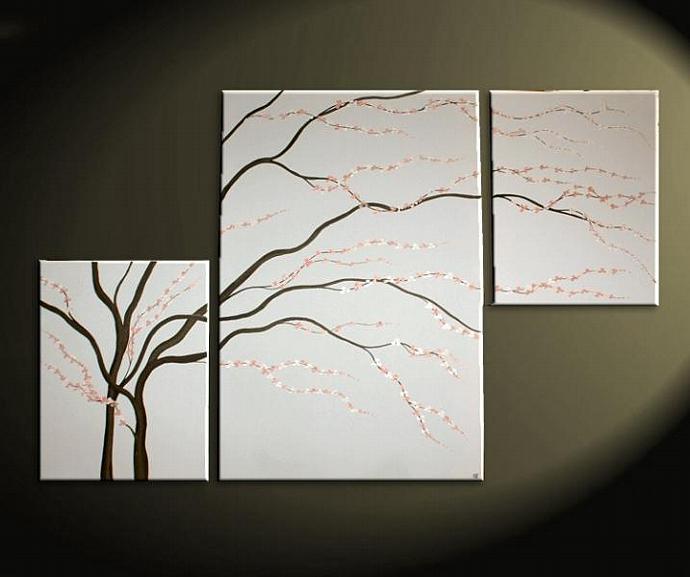 56x36 CUSTOM Elegant Cherry Blossom Painting