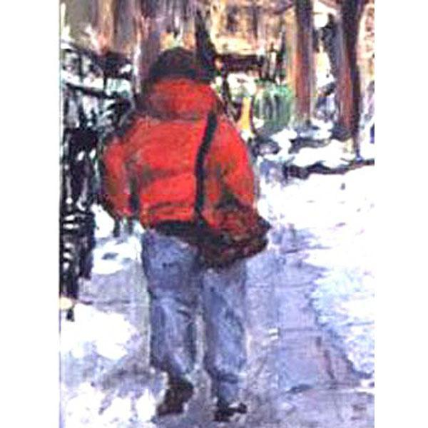 January Jog: West 12th Street (Cityscape)