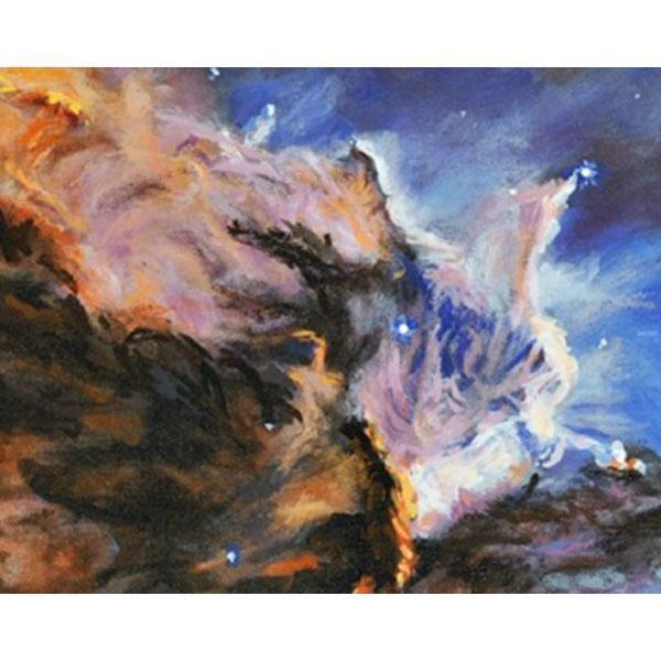THE EAGLE NEBULA  (A Space Landscape)