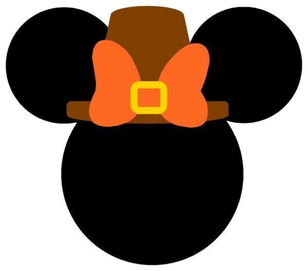 Personalized Thanksgiving Pilgrim Minnie Or Vinylchatter