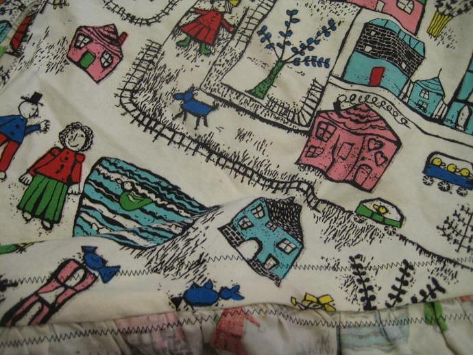 Busy Neighborhood Teddy Bed (Toy Hammock)- Size Medium