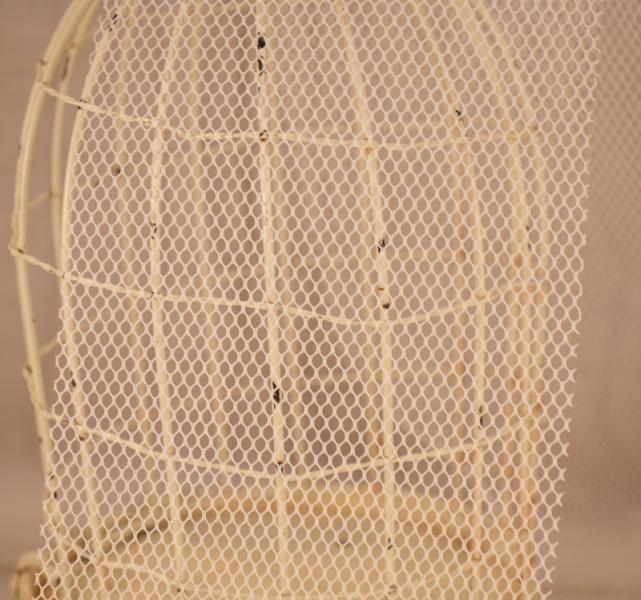 white netting mesh 6inches-3yards
