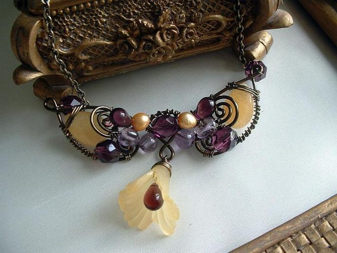 Fickle Fantasy Wrap Necklace