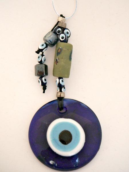 Nazar Blue Evil Eye Amulet Wall Hanging