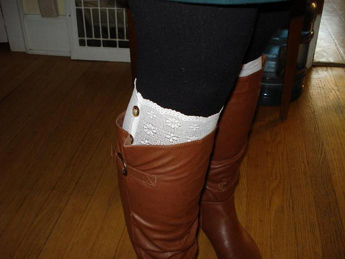 Lace Boot Topper