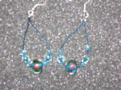 Milifiori Dangle Earrings