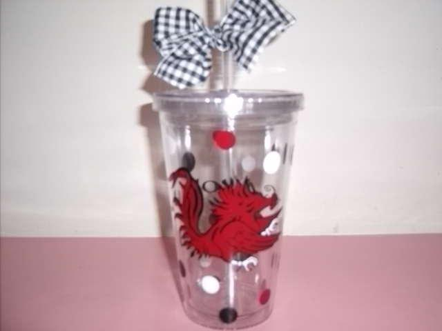 South Carolina Gamecock Tumbler