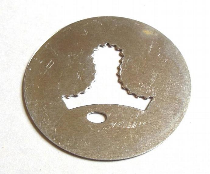 Wearever Super Shooter Cookie Press Disk Replacement Part Bell