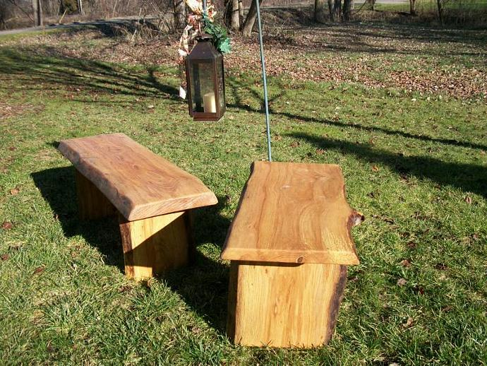 4 39 Rustic Garden Bench Outdoor Indoor Wood By Poppasboats On Zibbet