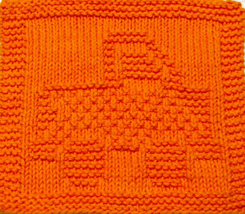Knitting Cloth Pattern - FUN TRUCK - PDF ezcareknits