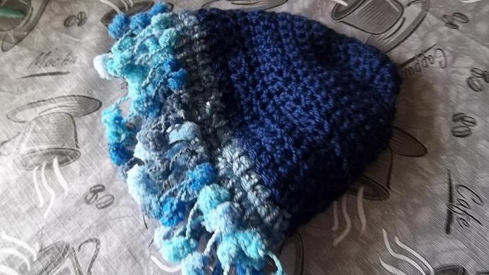 The Pom Pom Princess Hat (6mo-2 yrs)