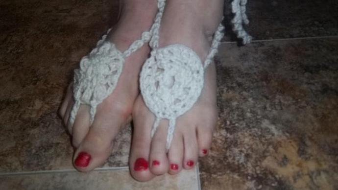 """Womens' Beachcomber Footsies With 3l"""" Tie Straps"""