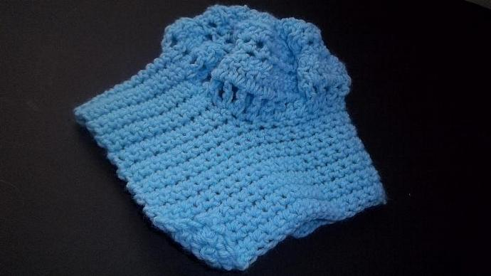 Baby Blue Pilgrim/Cloche