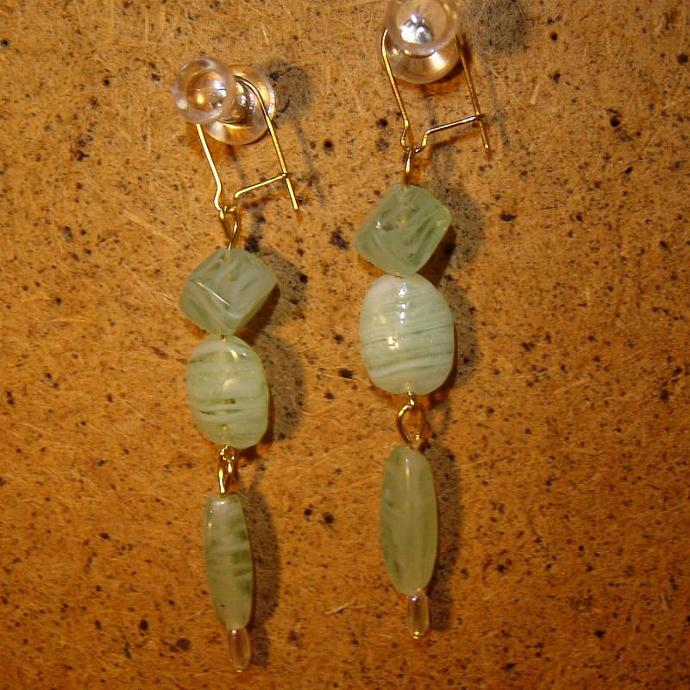 Wintergreen earrings